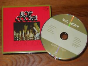 """ALICE COOPER CD """" easy action """" Papersleeve Cover"""