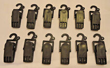 12-Count, Retail Store Shoe Display, Plastic Hanging Clamp Clip Hooks, Free Ship