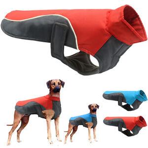 Dog Pet Puppy Fleece Jacket Vest Clothes Warmer Jumper Warm Outwear Waterproof