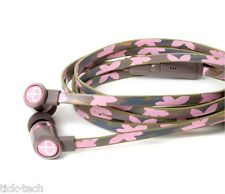 NEW ChicBuds ARTS with Mic CAMILLE Fashion Patterned Earphone Earbuds Headphones