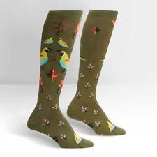 Sock It To Me Women's Knee High Socks - Well Quail-ified