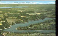 MUSKEGON,MICHIGAN-VIEW OF LAKE HARBOR-LINEN-#8-(MICH-M*)
