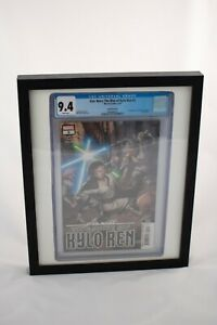 CGC Graded Comic Book Display Frame - Black with White
