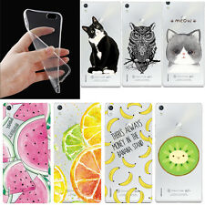Ultr Thin Clear Transparent TPU Gel Soft Cover Case For Huawei P9 / P8 Lite