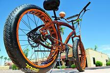 "DURO BEACH BUM 26""x3""  Cruiser Bike Chopper tire bicycle Fat Bike Rat Rod"