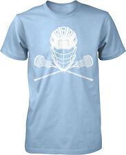Lacrosse Helmet and Sticks Men's T-shirt