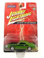 Johnny lightning 1970 70 Dodge Challenger T/A Car Green Die Cast 1/64 Scale