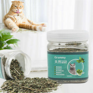 BP_ BL_ AU_ 250ml Dried Catnip Catmint Nepeta Cat Mint Leaf Herbal Pet Snack Hea