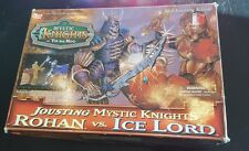 Nice! Jousting Mystic Knights Rohan Vs Ice Lord by Bandai