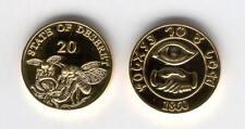 1860 Deseret Mormon Gold Brigham'S Bees