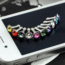 FT- 5x Cute Anti Dust Plug Earphone Headphone Charger Cover Jack for Cell Phone