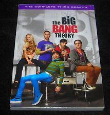 THE BIG BANG THEORY COMPLETE SEASON THREE DVD NEW