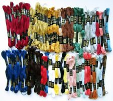 Lot of 74 Skeins Vintage DMC 25 Moulin Embroidery Floss Many Colors