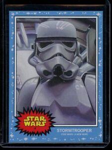 2019 Topps Star Wars Living Set #4 Stormtrooper SP Card Short Print A New Hope