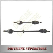 HYUNDAI GETZ CV JOINT DRIVE SHAFTS 2006-2010 MANUAL WITH ABS RINGS A SET OF two