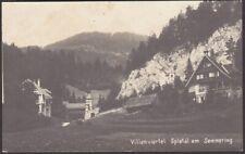 9066 Spital am Semmering mit Villenviertel 1926 - Bezirk Bruck Mürzzuschlag