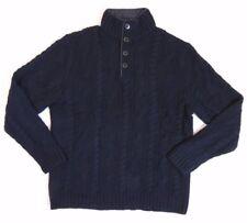 86fd82621  325 Polo Ralph Lauren 1 2 Zip Cable Knit Merino Wool Mockneck Ski Sweater  XL