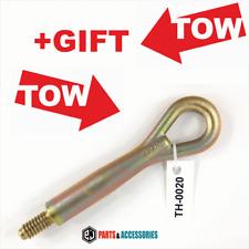 Tow hook ring towing lug racing eye loop VW New Beetle 1C0803615 + gift