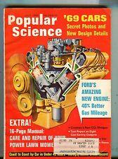 Popular Science Magazine July 1968 Ford's Amazing New Engine 062917nonjhe