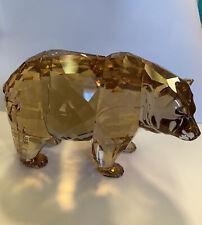 New ListingSwarovski Crystal | Scs Arcadia Bear Figurine-5229215 Rare Retired 2017 No Box