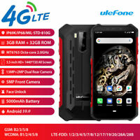 4G LTE Ulefone Armor X5 Rugged Smartphone Android 10.0 Dual SIM Waterproof IP68