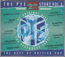 The Pye Story Vol 3 Best of British Pop 2CD Bowie Quo Kinks Petula Clark Donovan