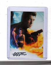 2016 James Bond Classics CT1 case Topper card