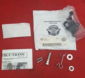 NEW Genuine Harley Davidson CLUTCH CABLE MTG KIT 38674-01