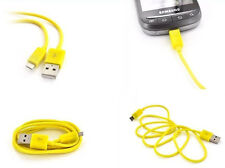 2X (Two) USB to Micro USB Phone Sync/Charge  Cables / Cords-Samsung, Nokia, Sony