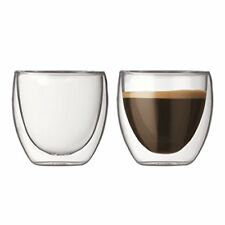 Bodum Pavina 4557-10 Set 2 Bicchieri da Caffè 0 08 litri