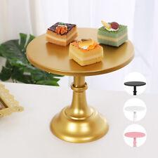 25cm Cake Stand Gold Iron Cupcake Wedding Dessert Bar Party Pedestal Fruit Tray