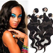 6 Bundles Virgin Malaysian Body Wave Human Hair Bundles Extensions for Full Head
