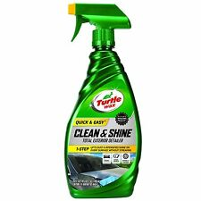 Turtle Wax QUICK & EASY CLEAN & SHINE TOTAL EXTERIOR DETAILER Paint Glass Wheels
