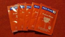 5 FRESH Packs Red Star Premiere Rouge Wine Yeast ~ Fast Free Shipping