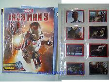 MARVEL Album IRON MAN 3 il film panini completo di figurine da attaccare maclama