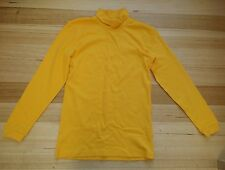 Skivvy - turtleneck - school uniform - gold - size 12