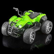 SPORTrax ATV MX400 Kid's Ride On Vehicle, Battery Powered w/FREE MP3 Player- Grn