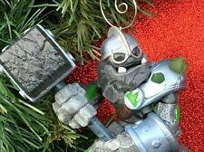 CUSTOM Skylander Giants Granite Crusher Christmas Tree Ornament Spyro Character