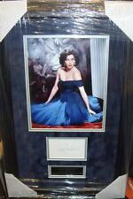 AVA GARDNER Vintage Signed Montage AFTAL