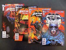 Batman and Robin #1 - #4 DC Comics NM 2011-12