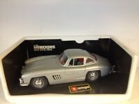 Bburago Mercedes Benz 300SL 1954. 1:18. Die Cast. 3013