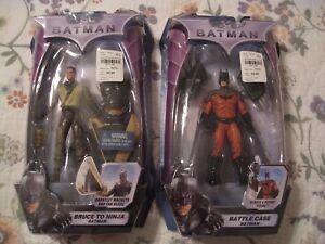 DC BATMAN BRUCE TO NINJA BATMAN & BATTLE CASE BATMAN