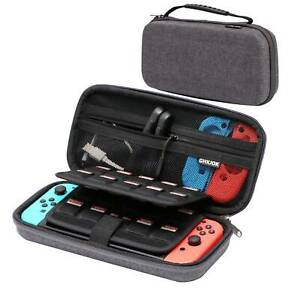 Switch Joy-Con Controllers + Accessories Hard Travel Carrying Case for Nintendo