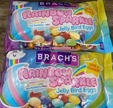 Brach's ~ Rainbow Sparkle Jelly Beans Eggs Easter 2-Bags 13 oz. Expires 11/2022