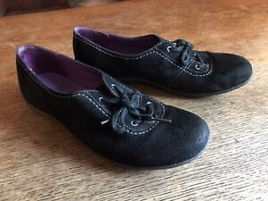 MERRELL SLIP ON Suede WOMENS SHOES BLACK SIZE 9