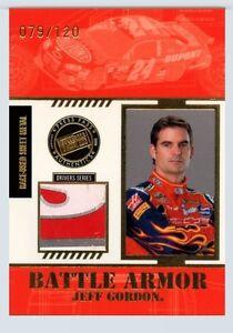 Jeff Gordon 2008 Press Pass Stealth Battle Armor Race Used Sheet Metal 3 Color