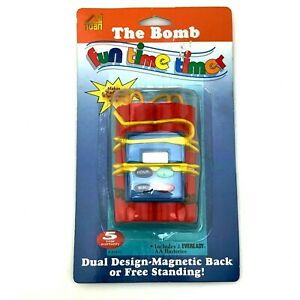 The Bomb Fun Time Timer   Housewares of all Nations   Ka-Boom Sound   Sealed