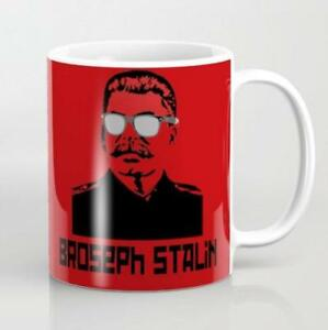Broseph Stalin, Funny Hilarious Coffee Mugs Cussing Cups Political Mugs Gifts