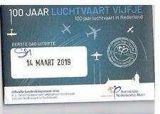 nederland coincard EERSTE DAG VAN UITGIFTE LUCHTVAART VIJFJE 2019