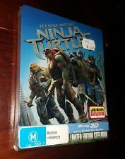 Teenage Mutant Ninja Turtles 3d Steelbook - Australian Excl Ltd Edition Blu-ray